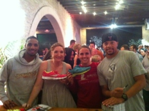Saucony Mirages signed by Olympians!