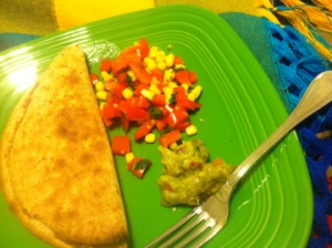 Pre-Race Dinner with salsa and guac!