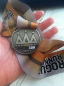 Finisher's Medal!