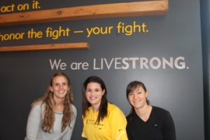 The marathoners - we are Livestrong!